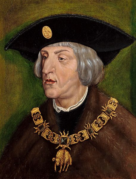 Workshop or follower of Albrecht Dürer | Maximilian I, Holy Roman Emperor |  German | The Met