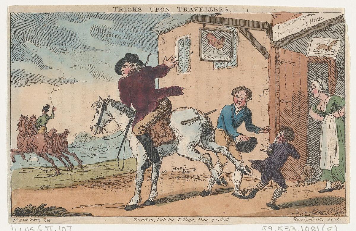 Thomas Rowlandson | Tricks Upon Travellers | The Met