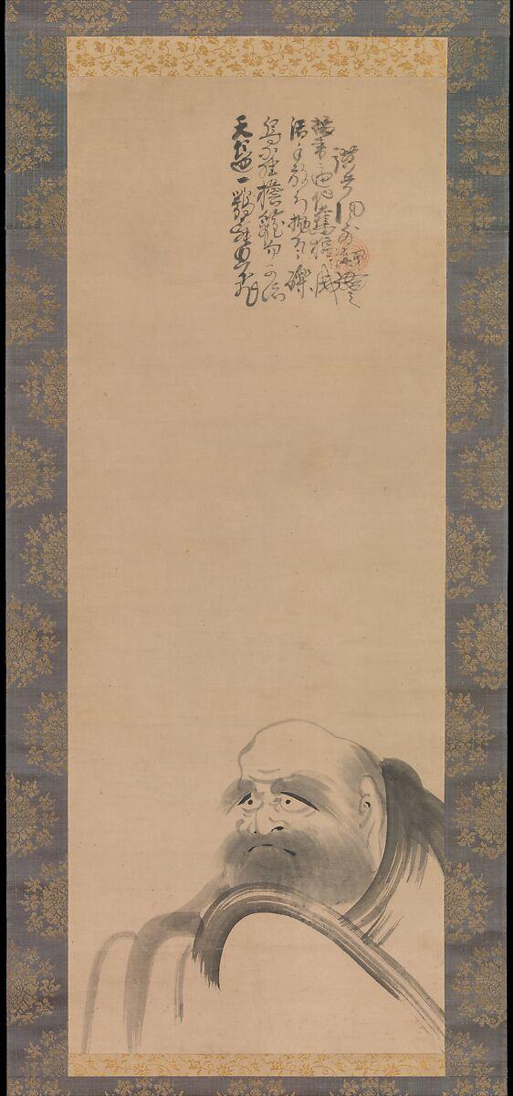 Fūgai Ekun | Portrait of Daruma | Japan | Momoyama (1573–1615)–Edo (1615–1868) period | The Met