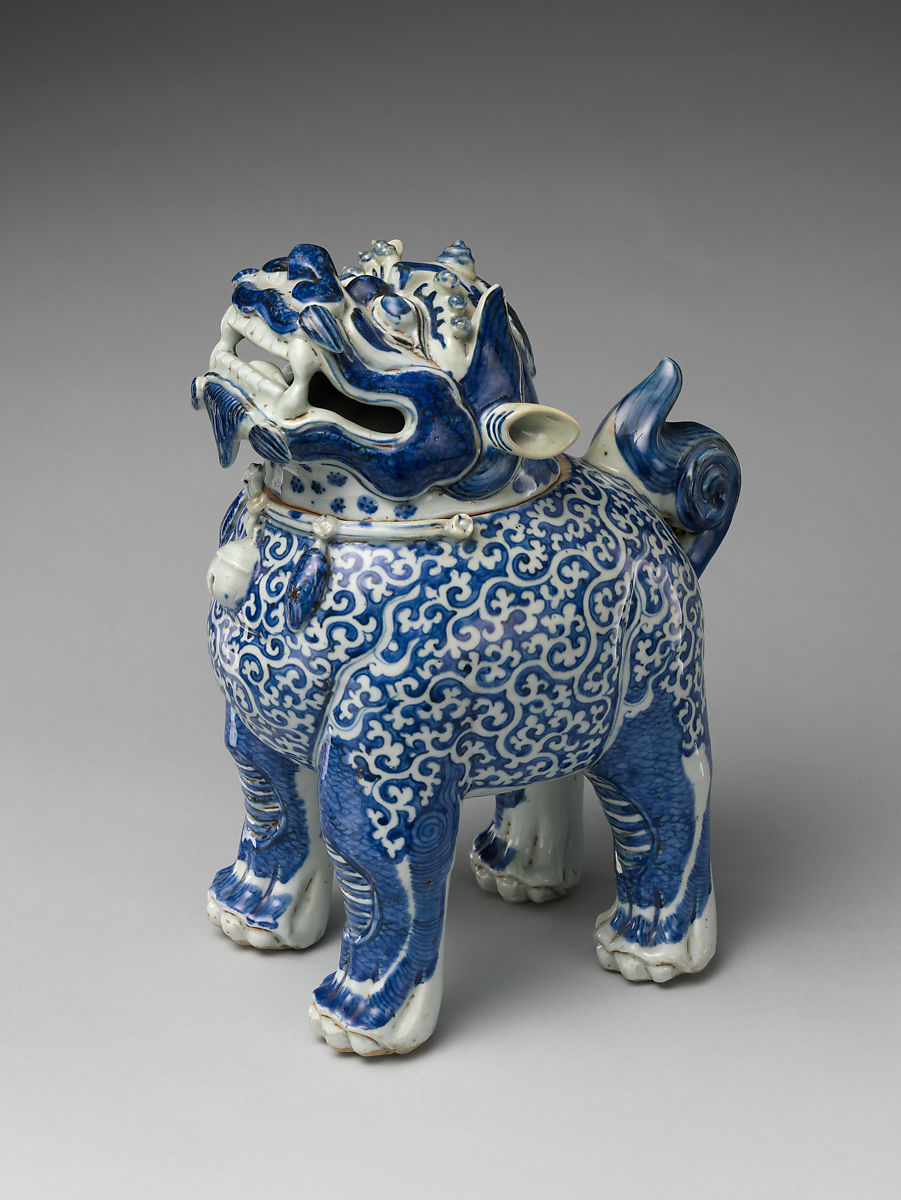 Censer in the form of a mythical beast | China | Ming dynasty (1368–1644) | The Met