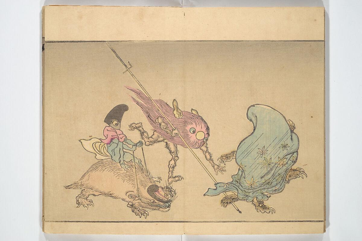 Kawanabe Kyōsai | Kyōsai's Pictures of One Hundred Demons (Kyōsai hyakki gadan) | Japan | Meiji period (1868–1912) | The Met
