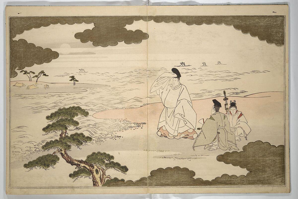 Kitagawa Utamaro   Moon-Mad Monk   Japan   Edo period (1615–1868)   The Met