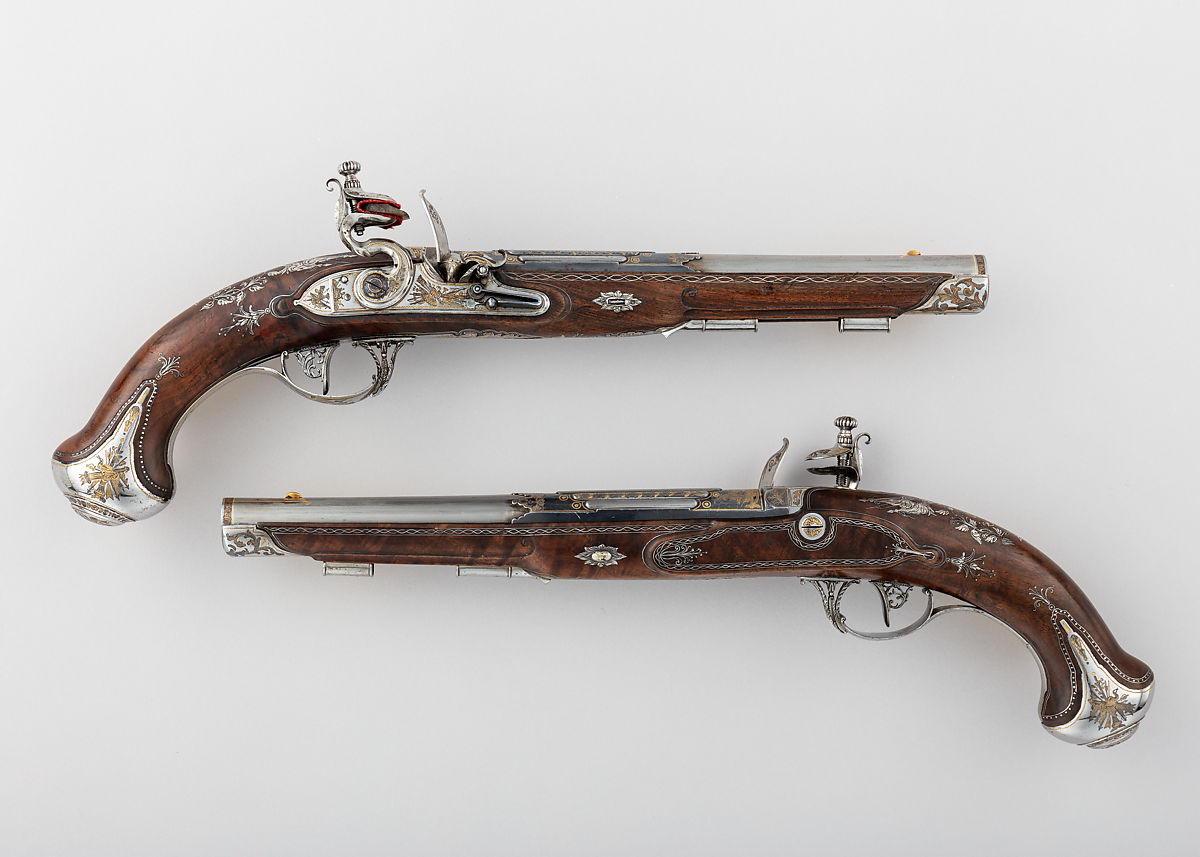 Tula Arms Factory | Pair of Flintlock Pistols made for Grand