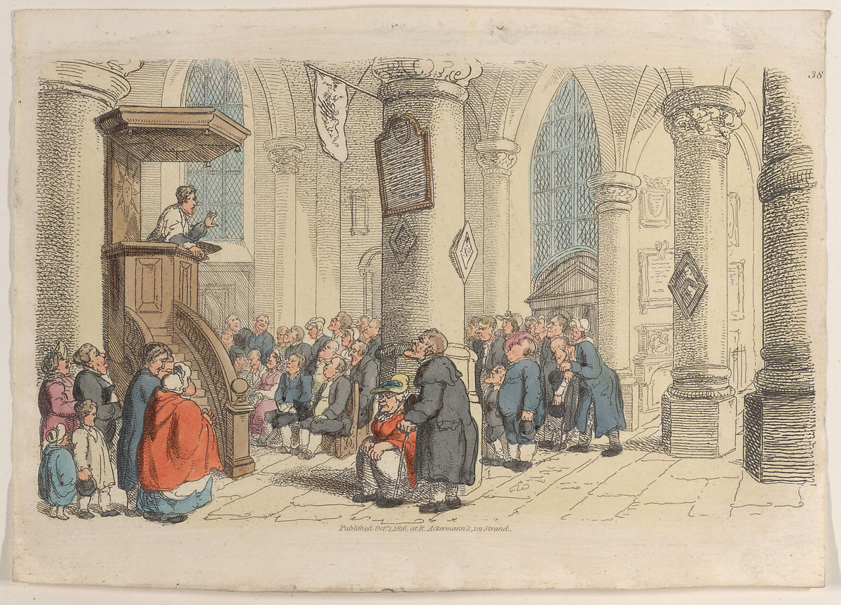 """Thomas Rowlandson 