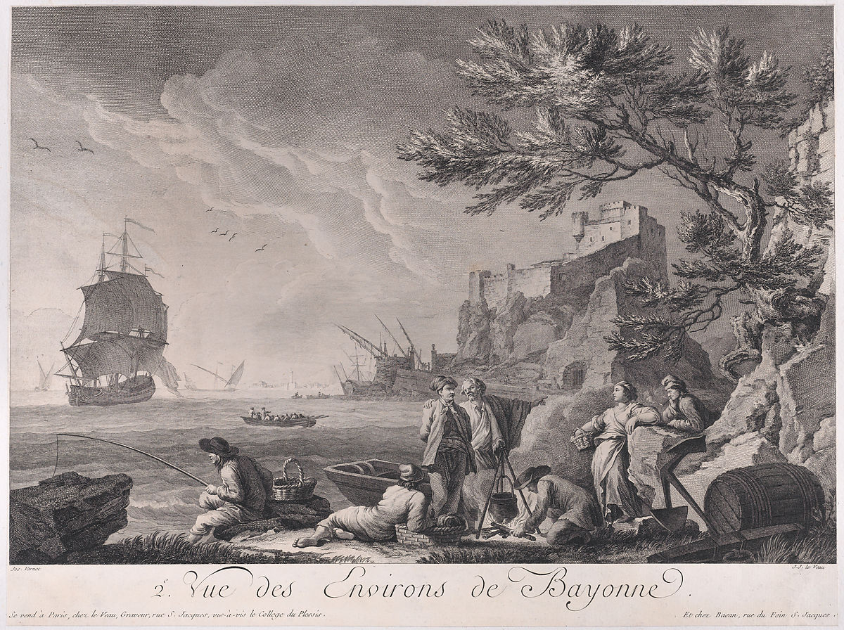 After Joseph Vernet | Second View of the Surroundings of Bayonne | The Met