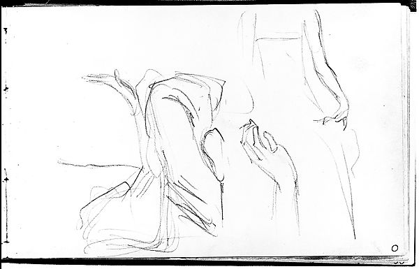 John Singer Sargent Hand And Body Positions Of A Javanese Dancer From Sketchbook Of Javanese Dancers American The Met