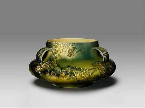 Bowl, Kataro Shirayamadani (1865–1948), Earthenware, American