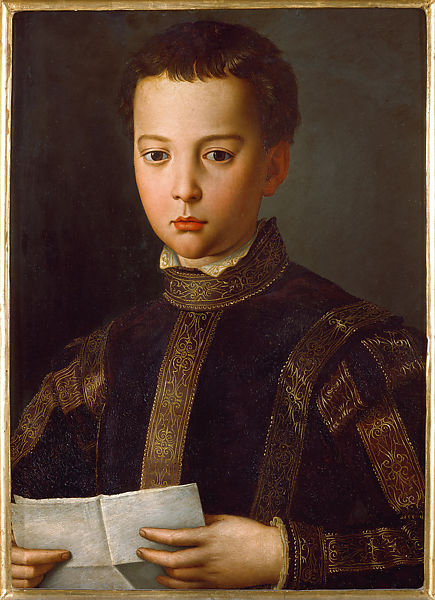Bronzino (Agnolo di Cosimo di Mariano), Portrait of a