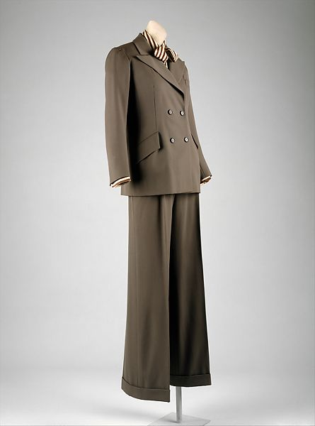 Yves Saint Laurent | Pantsuit | French | The Met