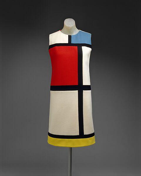 Yves Saint Laurent Dress French The Met