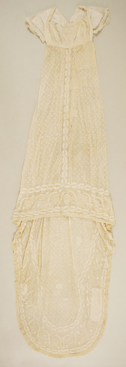 Dress, cotton, American