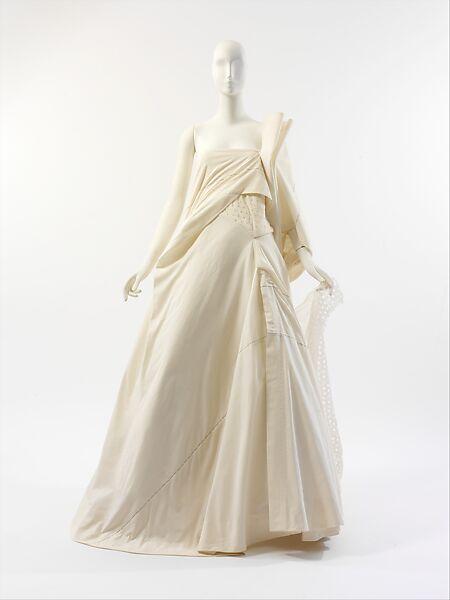 Yohji Yamamoto | Wedding dress | Japanese | The Met